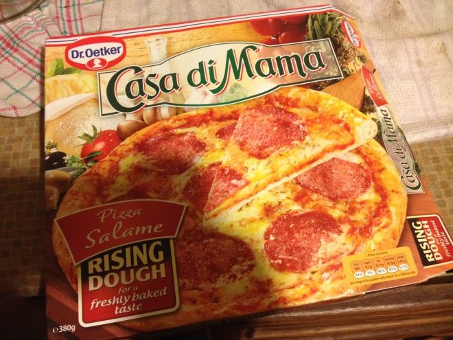Casa Di Mama Pizza Salame Review