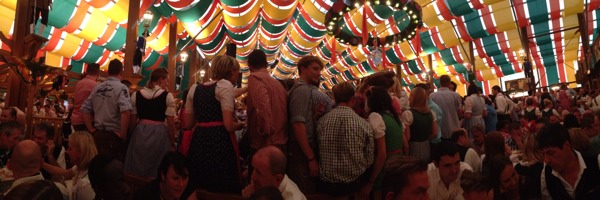 oktoberfest 2012 panoramic shot